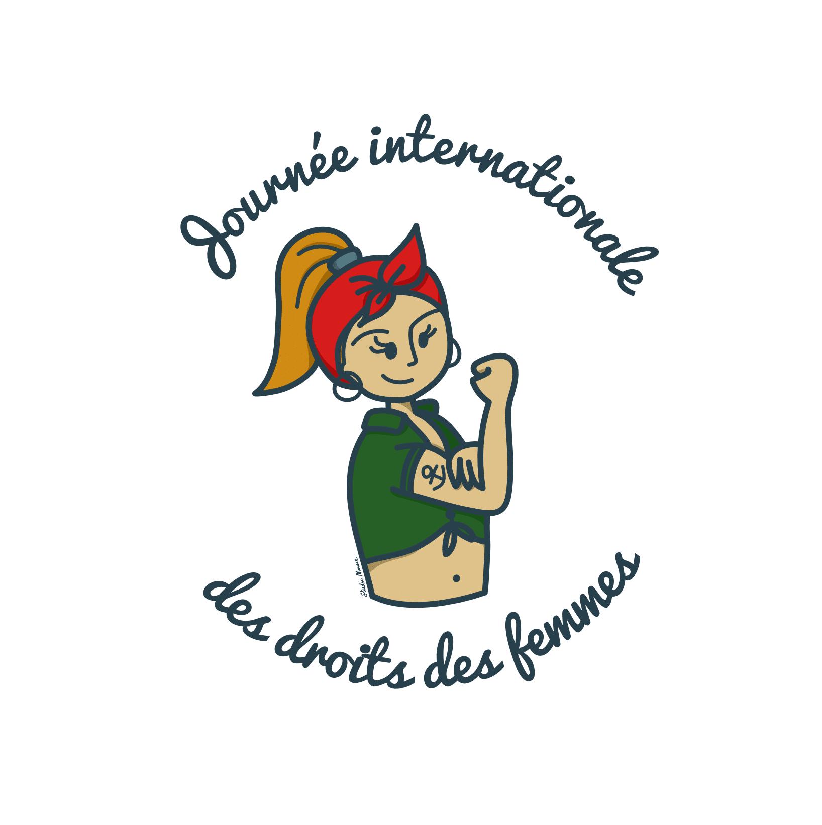 Illustration pour la journée internationale des droits des femmes