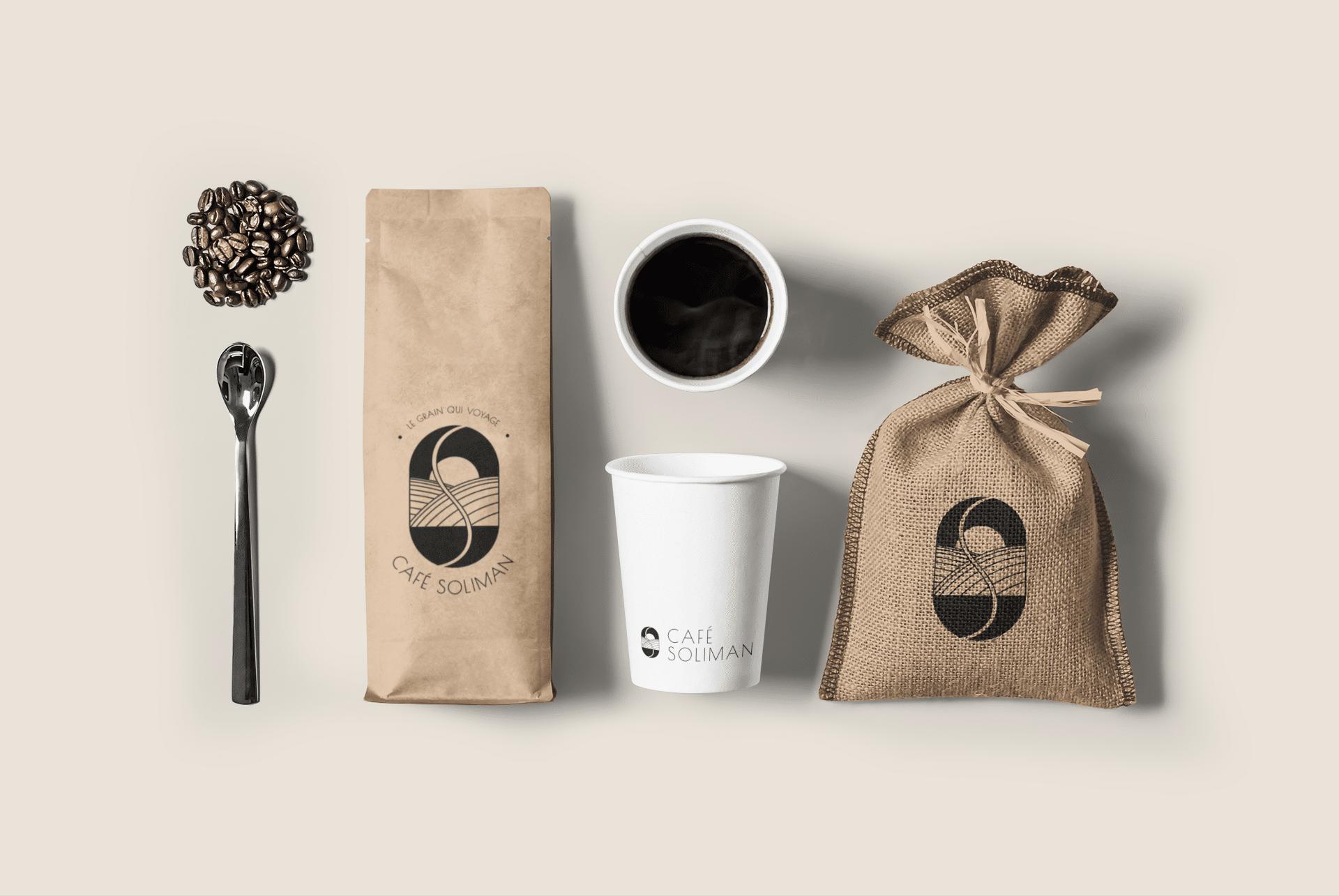 Projet fictif Les Briefs Créatifs - Café Soliman