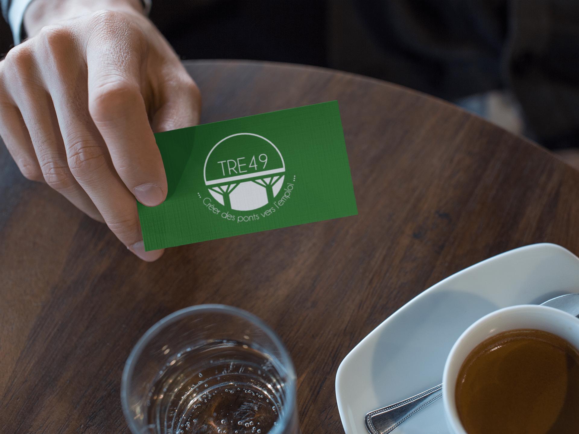Association TRE 49 - cartes de visite