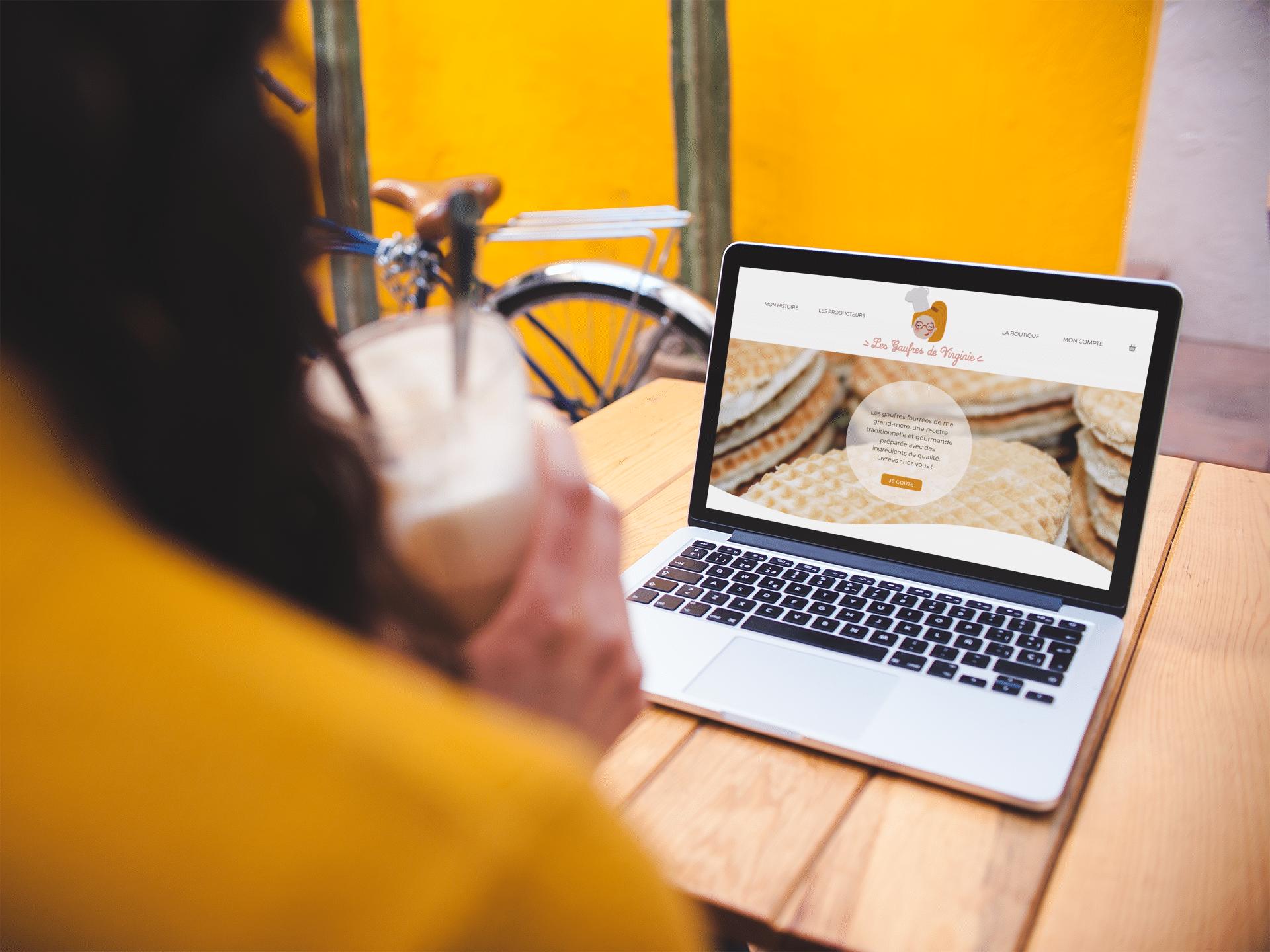Les Gaufres de Virginie - site internet (en cours d'intégration)