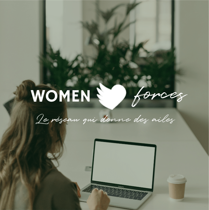 Logo Women Forces sur photo