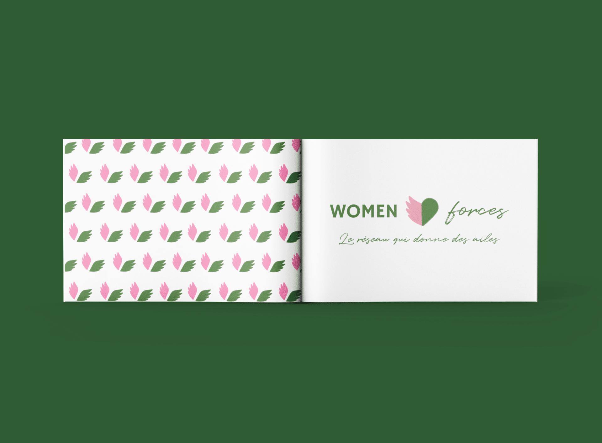 Logo et motif Women Forces