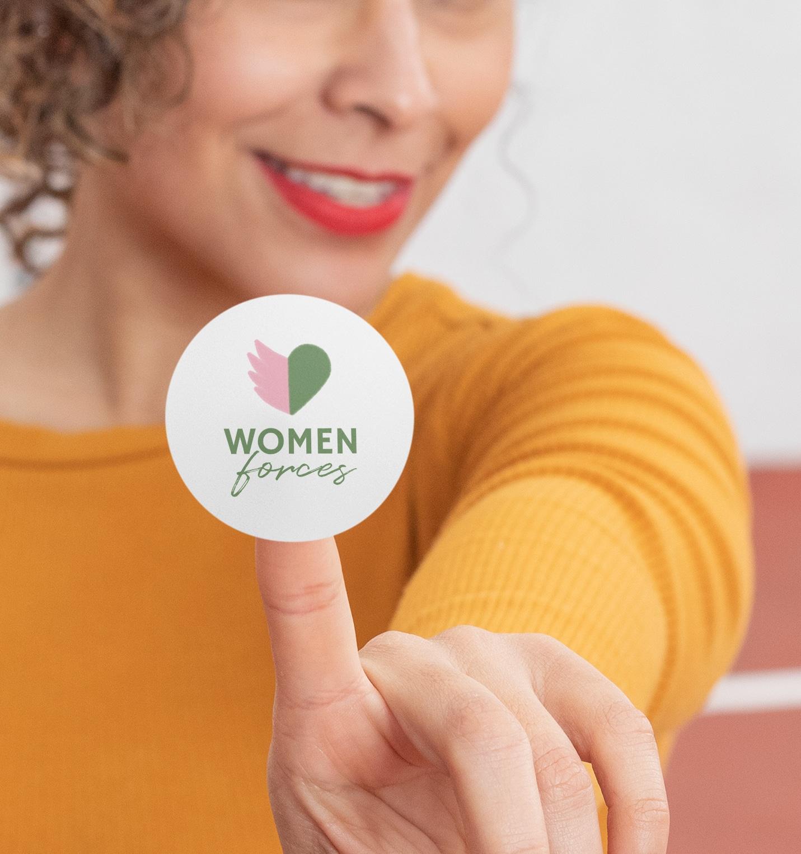 sticker women forces